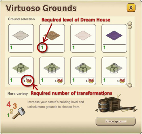 virtuoso grounds